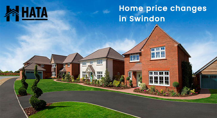 Home price changes in Swindon